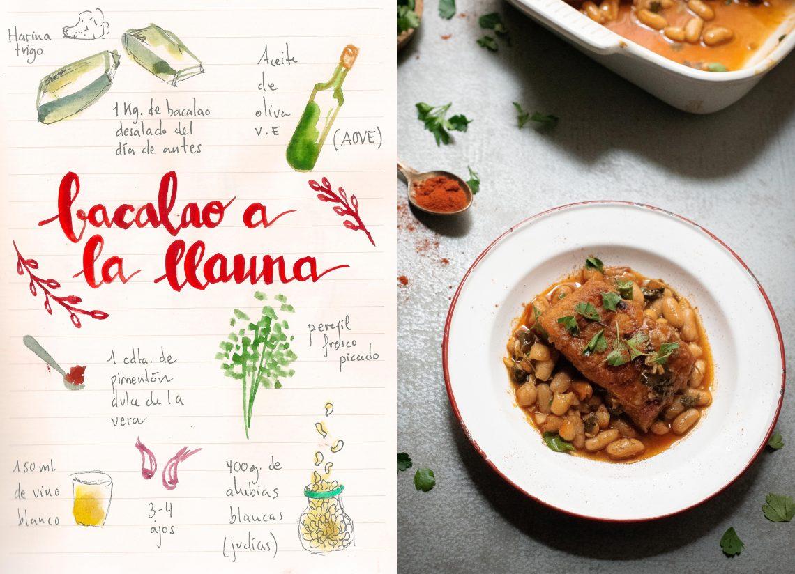 Bacalao A La Llauna Plato Tradicional De La Cocina Catalana